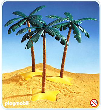 Playmobil 7055 - 3 Palm Trees - Box