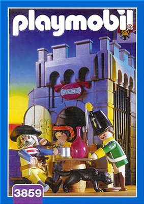 Playmobil 3859 - Pirates dungeon - Box