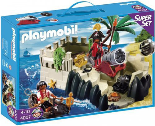 Playmobil 4007s2 - Super set pirates stronghold - Box