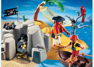 Playmobil - 4139 - Kompaktset Pirateninsel