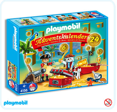 "Playmobil 4156 - advent calendar ""pirate lagoon"" - Box"