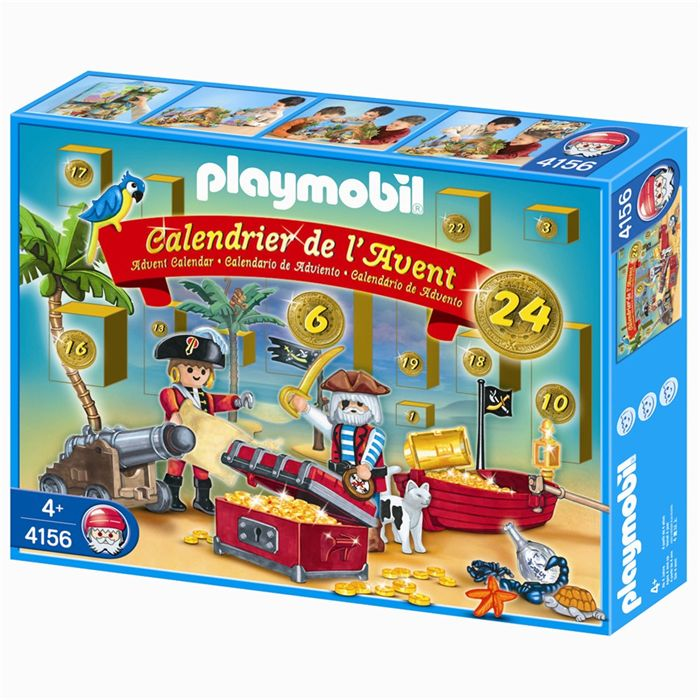 "Playmobil 4156v2 - Advent calendar ""pirates"" - Box"