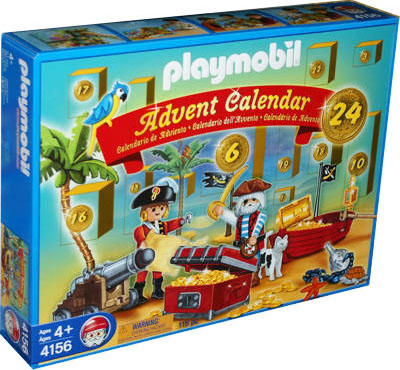"Playmobil 4156-usa - advent calendar ""pirates"" - Box"