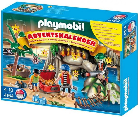 Playmobil 4164 - Advent calendar pirates treasure cave - Box