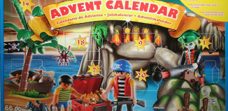 Playmobil - 4164v2-usa - eng - advent calendar pirates treasure cave