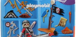 Playmobil - 4219-usa - pirates' carrying case