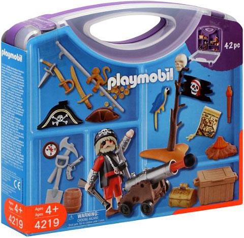 Playmobil 4219-usa - pirates' carrying case - Box