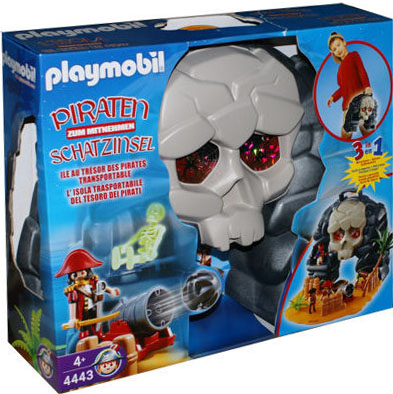 Playmobil 4443 - Take along pirate island - Box