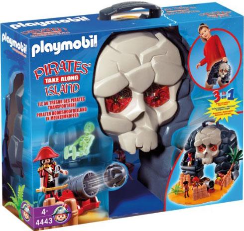 Playmobil 4443v2 - Take along pirates' island - Box