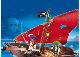 Playmobil - 4444-usa - pirate dinghy
