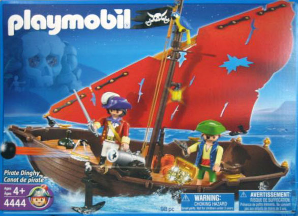 Playmobil 4444-usa - pirate dinghy - Box