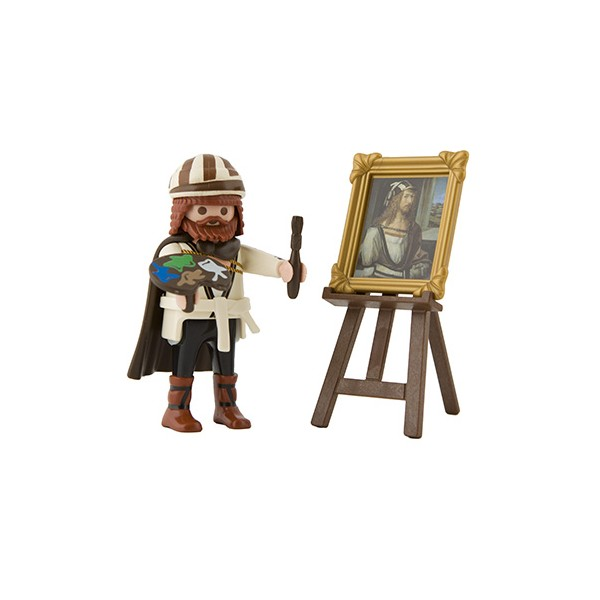 Playmobil 6107v1 - Albrecht Dürer - Back