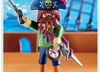 Playmobil - 4654-usa - angry pirate