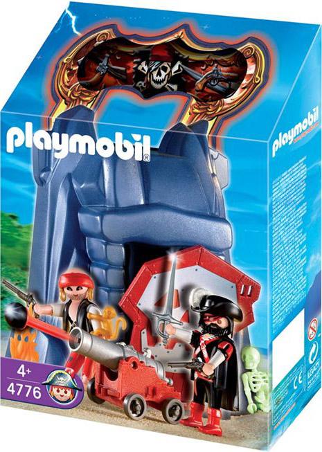 Playmobil 4776v1 - Take along pirates' cliff - Box