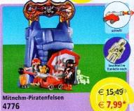 Playmobil - 4776v2 - take along pirates' cliff