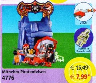 Playmobil 4776v2 - take along pirates' cliff - Box