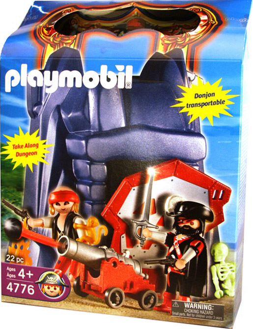 Playmobil 4776-usa - Take along dungeon - Box