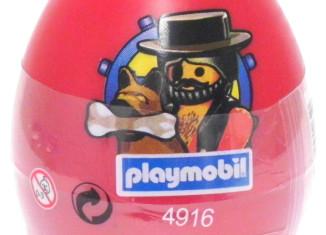 Playmobil - 4916s3-esp-usa - pirate red egg