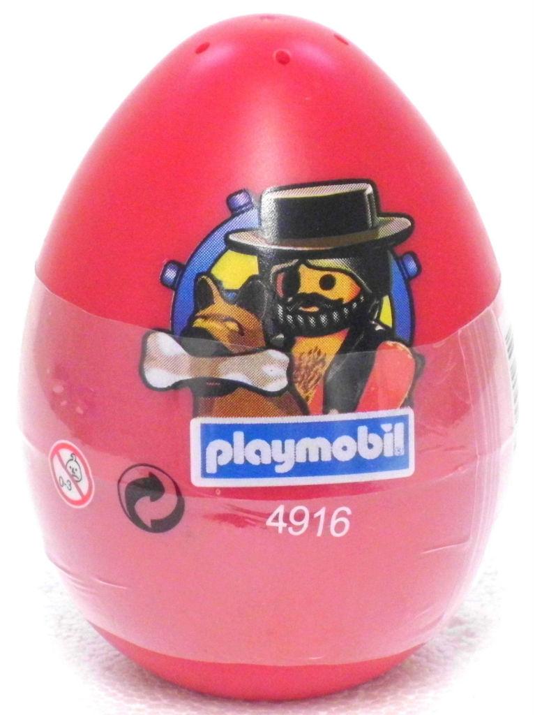 Playmobil 4916s3-esp-usa - pirate red egg - Box