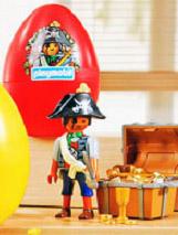 Playmobil 4935-ger - pirate red egg - Box