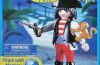 Playmobil - 4965-usa - Pirata con mono