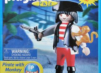 Playmobil - 4965-usa - Pirate with monkey