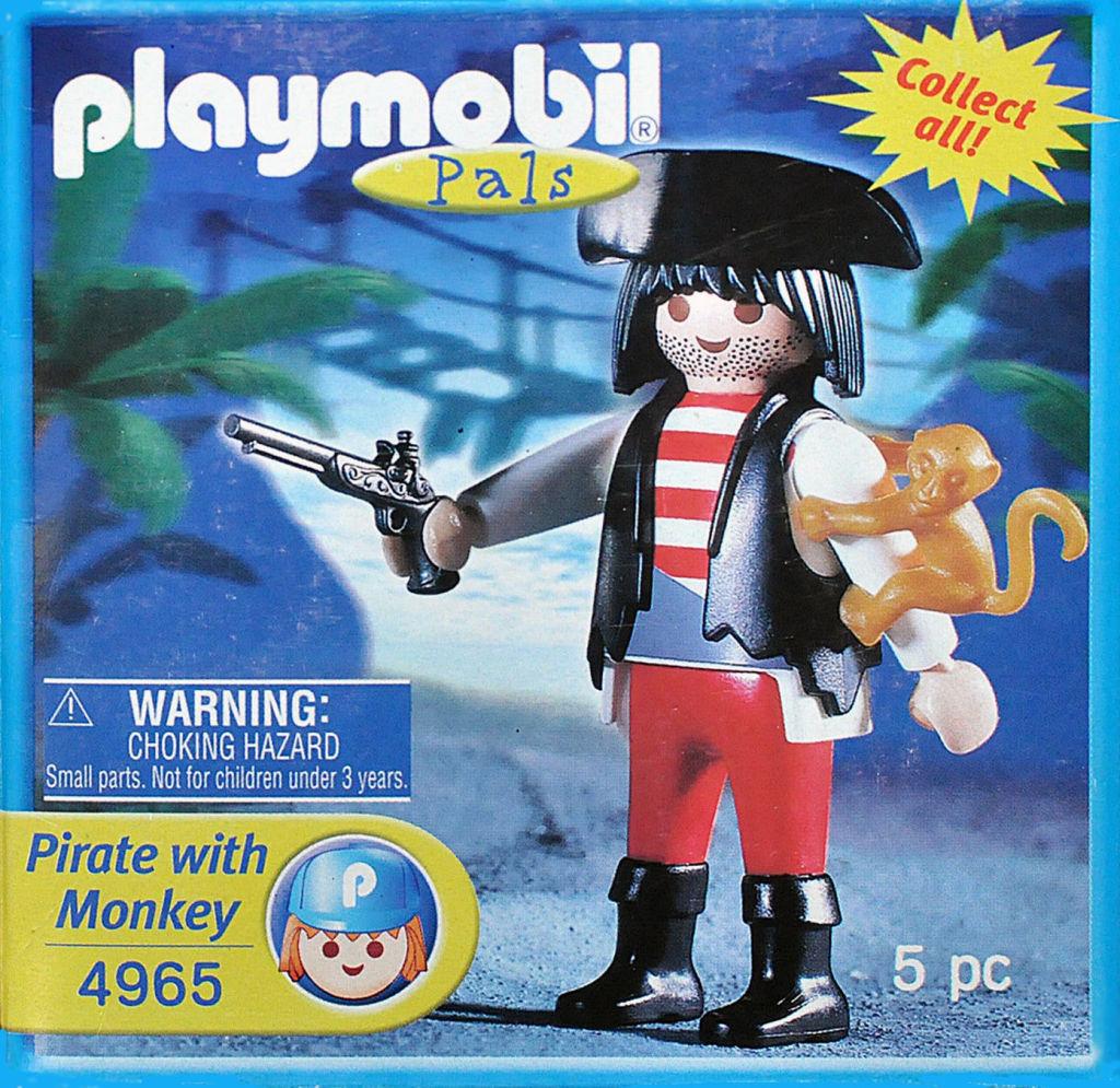 Playmobil 4965-usa - Pirate with monkey - Box