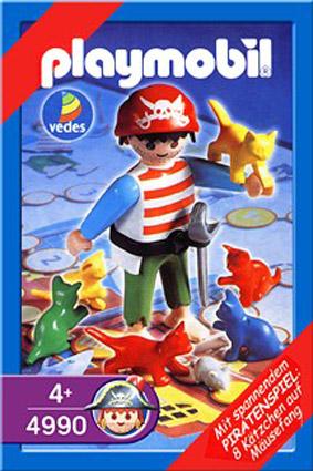 Playmobil 4990-ger - pirate game - Box