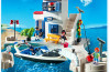 Playmobil - 5128 - Harbour Police with Speedboat