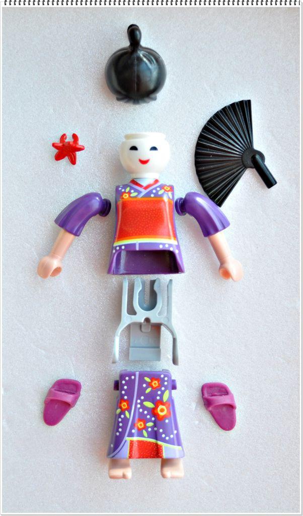 Playmobil 5158v12 - Geisha - Back