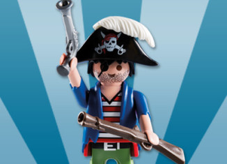Playmobil - 5596v11 - Pirate with blunderbuss
