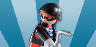 Playmobil - 5596v10 - Burglar with crowbar