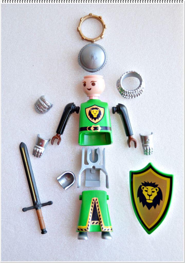 Playmobil 5596v6 - Medieval King - Back