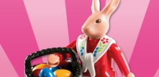 Playmobil - 5597v8 - Mama coneja con huevos de pascua