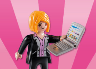 Playmobil - 5597v9 - Businesswoman with laptop