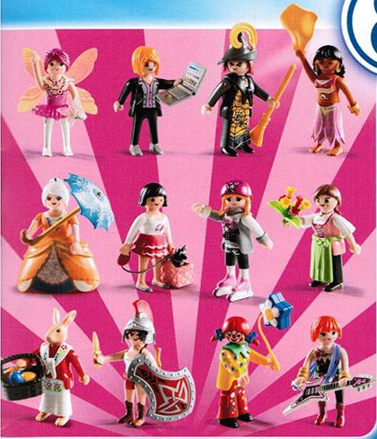 Playmobil 5597 - Figures Series 8 - Girls - Box