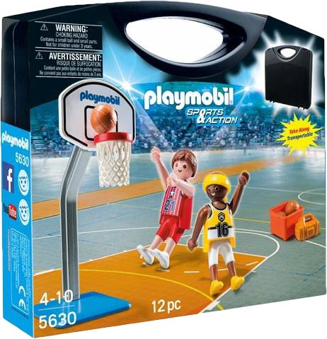 Playmobil 5630-usa - Carrying Case Basketball - Box