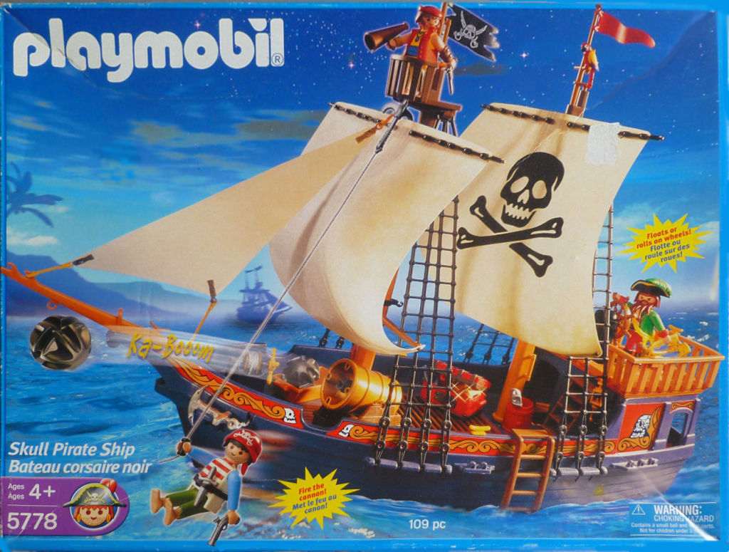 playmobil set 5778 usa skull pirate ship klickypedia. Black Bedroom Furniture Sets. Home Design Ideas