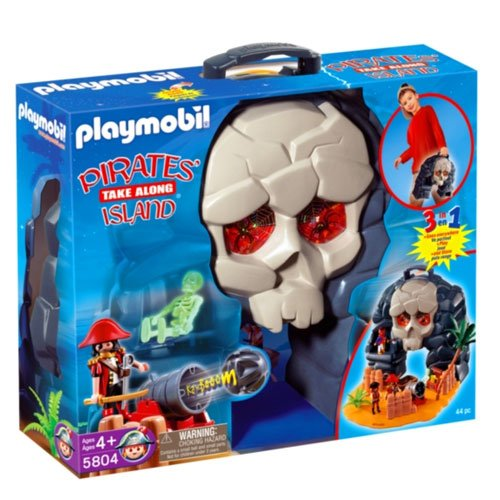 Playmobil 5804-usa - take along pirates' island - Box