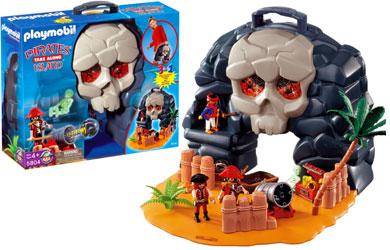 Playmobil 5804-usa - take along pirates' island - Back