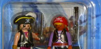 Playmobil - 5819-usa - 2 pirates blister