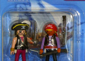 Playmobil - 5819-usa - 2 pirates blister