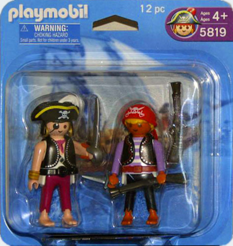 Playmobil 5819-usa - 2 pirates blister - Box