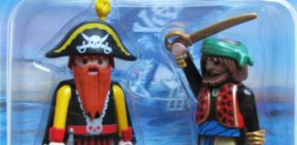Playmobil - 5826-usa - 2 pirates blister