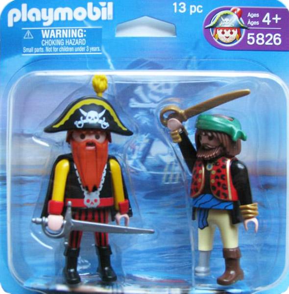 Playmobil 5826-usa - 2 pirates blister - Box