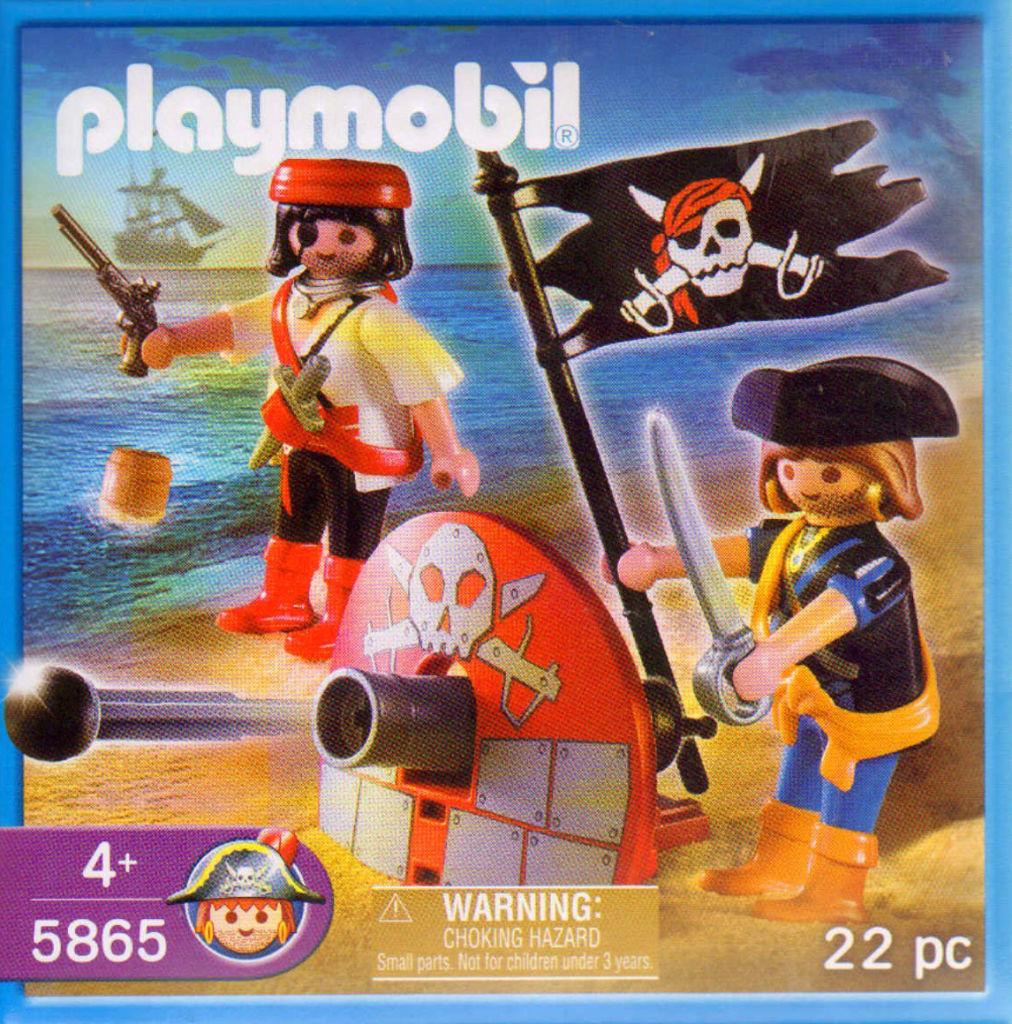 Playmobil 5865-usa - pirate miniset - Box