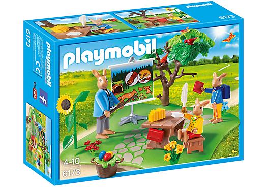 Playmobil 6173 - Easter Bunny school - Box