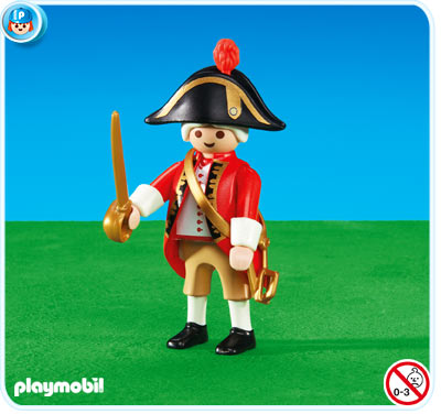 Playmobil 6228 - redcoat captain - Box