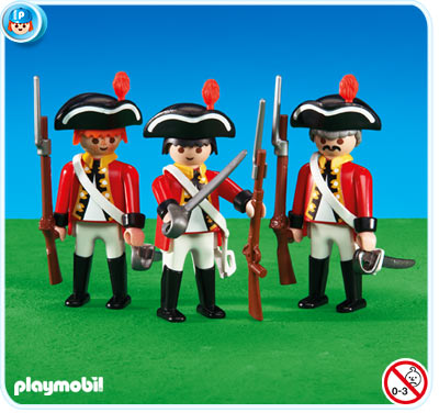 Playmobil 6229 - 3 redcoat soldiers - Box