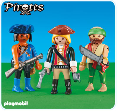 Playmobil 6290 - 2 pirates with a piratin - Box